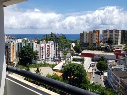 Imagem 1 de 14 de Cobertura Duplex - Vista Mar - Rio Vermelho 3/4, Uma Suite, 2 Vagas Com Vista Mar Com 250 Metros - Mc081 - 69355592