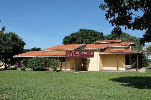 Chácara Com 7 Dormitórios À Venda, 5000 M² Por R$ 650.000,00 - Floresta Escura Ii - São Pedro/sp - Ch0067
