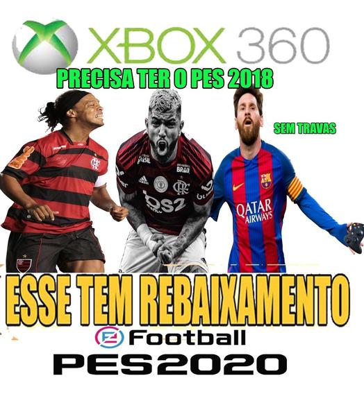 Patch Pes 2019 2018 Xbox 360 Via Pendrive Completo Só Jogar