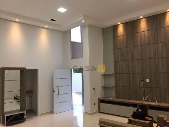 Casa Com 3 Dormitórios À Venda, 180 M² Por R$ 1.080.000 - Jardim Primavera - Nova Odessa/sp - Ca0558