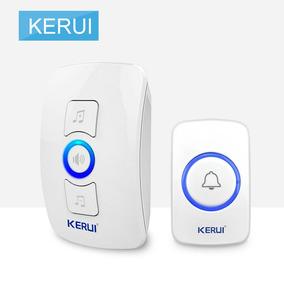 Transmissor À Prova D'água Sistema Sem Fio Doorbell Keru