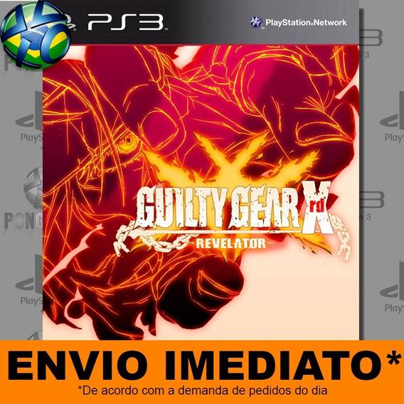 Jogo Guilty Gear Xrd Revelato Ps3 Digital Psn Envio Imediato