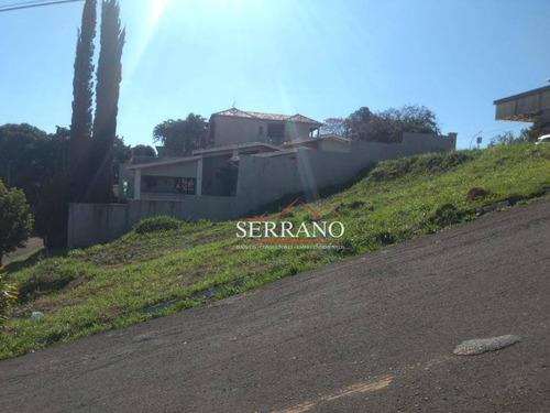 Terreno À Venda, 360 M² Por R$ 550.000,00 - Centro - Vinhedo/sp - Te0282