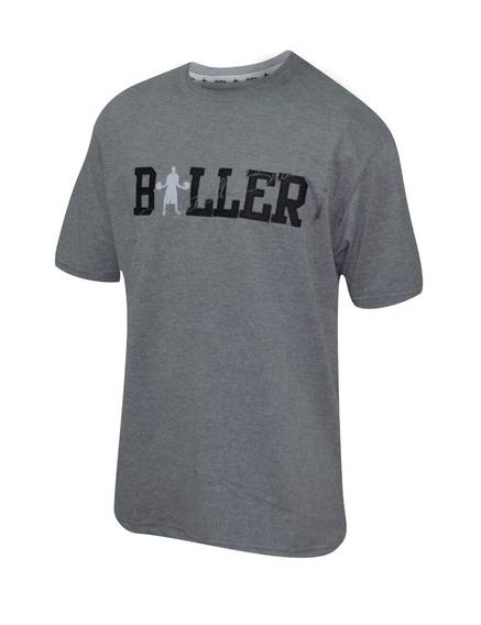 Remera Baller Brand Gammer Gris