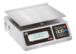 Báscula comercial digital Torrey L-EQ 10 kg 110V/220V plateado