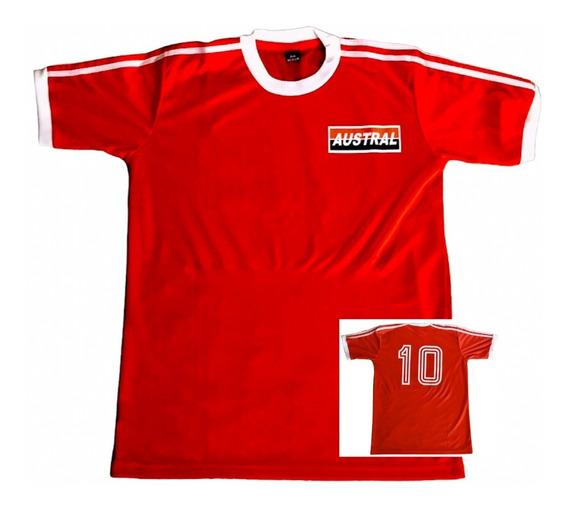Camiseta Argentinos Juniors Diego Maradona 1980 Retro