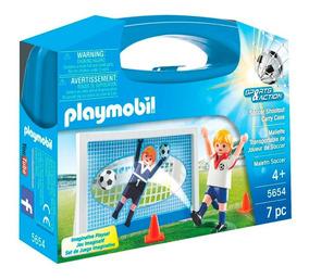 Playmobil - Sports & Action - Maleta Jogador De Futebol - 56