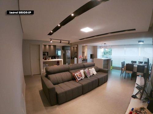 Apartamento Com 3 Dormitórios À Venda, 109 M² Por R$ 1.200.000,00 - Alto Da Boa Vista - São Paulo/sp - Ap15453