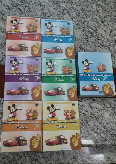 Enciclopédia De Personagens Animados Disney 6 Volumes Babel