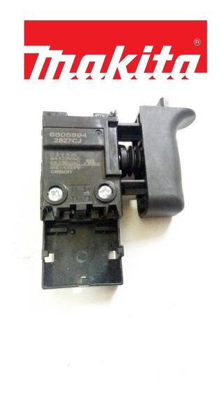 Chave Interruptor P/ Martelete Makita Hr 2470/2460/2230/2014