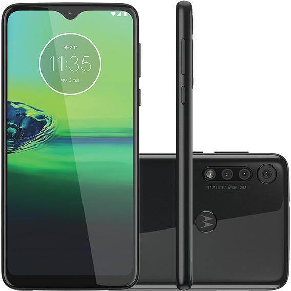 Smartphone Motorola G8 Play Xt2015 32gb Câmera Tripla Preto