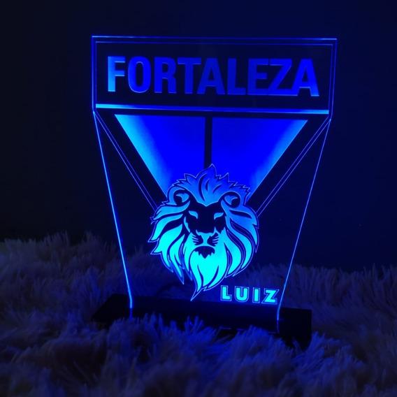 Luminária Em Acrilico Led Time Fortaleza Esporte Clube