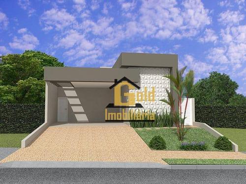 Casa Com 3 Dormitórios À Venda, 146 M² Por R$ 680.000 - Condomínio Buona Vita - Ribeirão Preto/sp - Ca0872