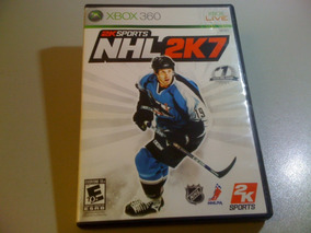 Jogo Xbox 360 Nhl 2k7 (c/ Manual) Original Americano