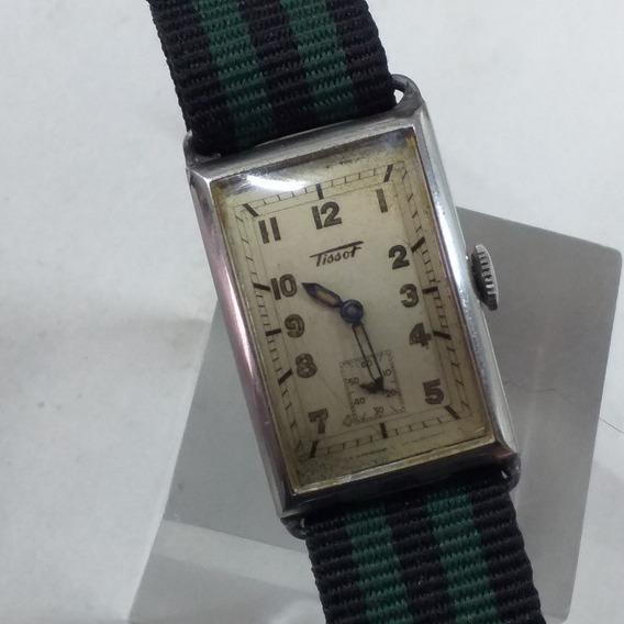 Relógio Tissot Swiss Made Curvex Ano 1930 (corda)
