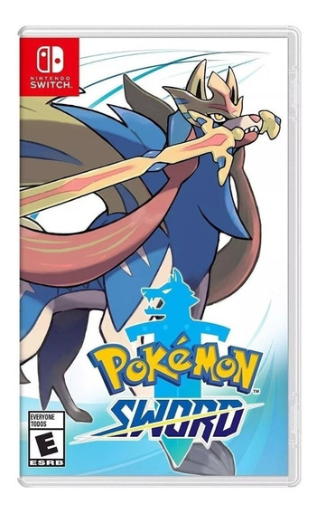 Jogo Nintendo Switch Pokemon Sword - Original Novo Lacrado