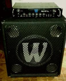 Cabeçote Warwick Pro Fet 5.1 500w E Caixa 1x15 300w