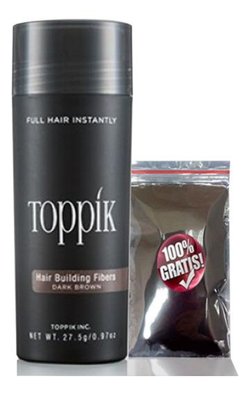 Toppik Hair 27,5g Disfarce Para Calvície + ( Sache 4,5g )