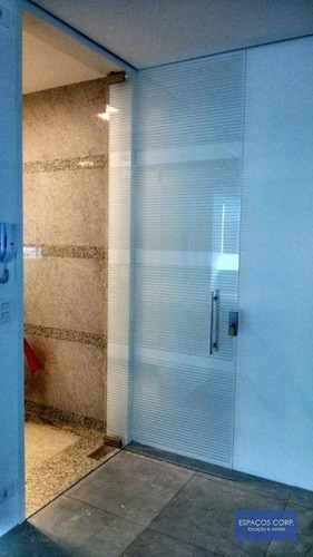 Laje Comercial Para Alugar, 390m² - Brooklin - São Paulo/sp - Lj0131