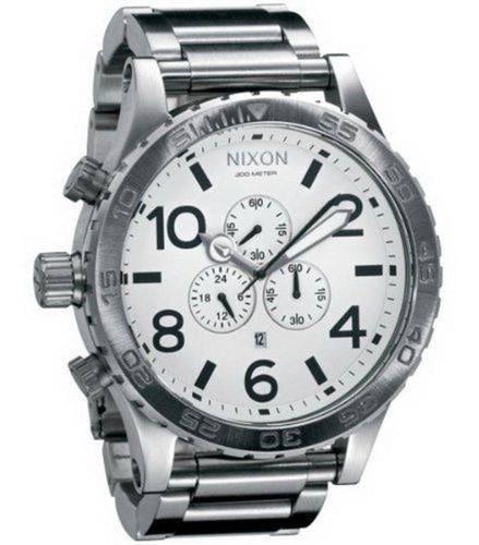 Relógio Vi1742 Nixon 51-30 Prata Lançamento 2019 C/ Caixa