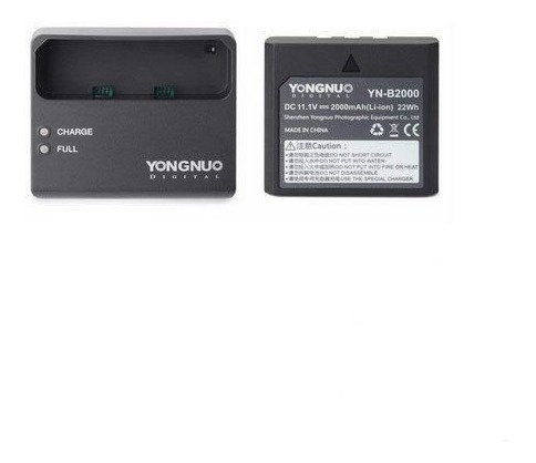 Bateria De Lítio Yongnuo Yn-b2000 Para Youngnuo Yn686ex-rt