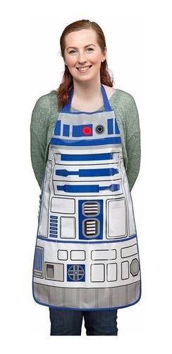 Avental De Churrasco R2-d2 Star Wars - Cozinha - Bbq Apron