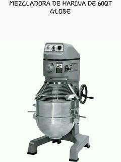 Mezcladora De Harina Globe 60qt