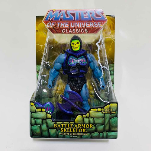 Skeletor Battle Armor Masters Of The Universe Classics Motuc