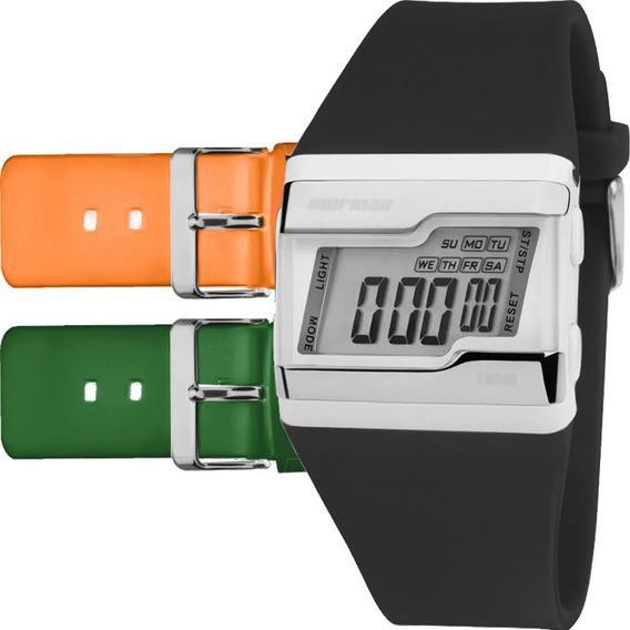Relógio Mormaii Digital Esportivo Troca Pulseira Fz/t8l