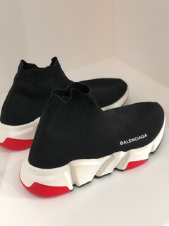 Sneakers, Balenciaga, Mid Speed Trainer Sock Sneacker