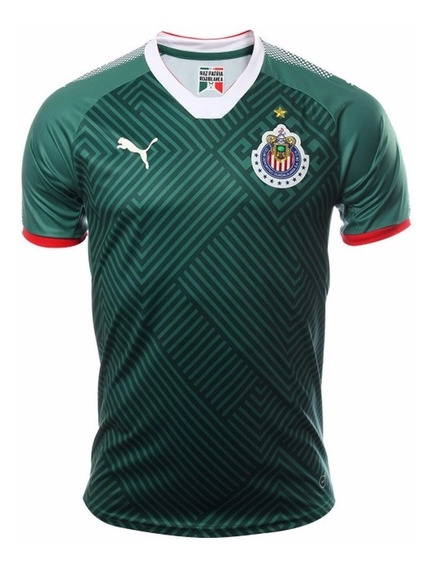 Playera Jersey Puma De Chivas De Guadalajara Verde Tercero