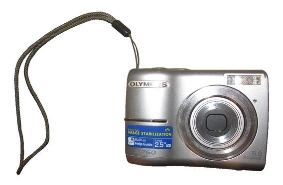 Cámara Fotos Digital Olympus X-760 6.0 Mpix Estuche Rígido