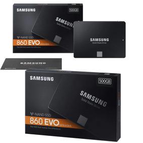 Ssd Samsung 860 Evo 500 Gb Sata 3 6 Gb/s Original Lacrado