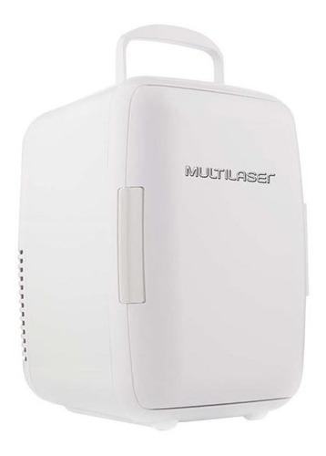 Mini Geladeira 6l Branca 12v C/ Encaixe + Cabo 110v - Tv011