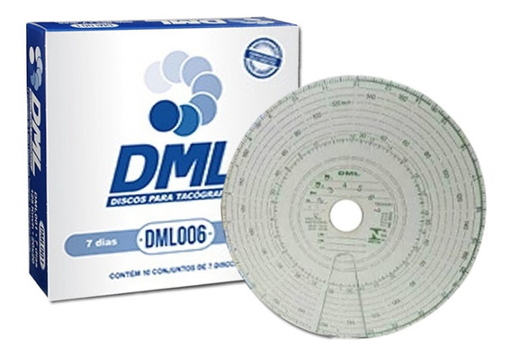 Disco De Tacografo Semanal 180x7d