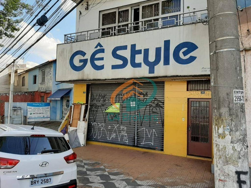 Salão Para Alugar, 200 M² Por R$ 4.500,00/mês - Vila Ristori - Guarulhos/sp - Sl0002