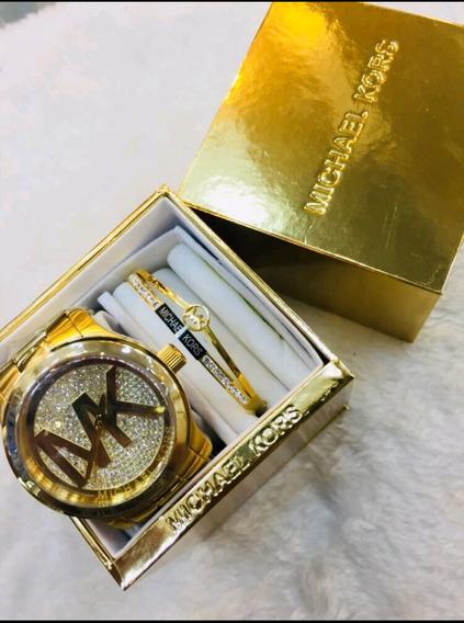 Relógio Michael Kors E Bracelete