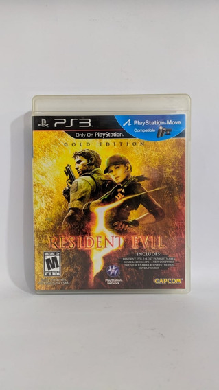 Resident Evil 5 Gold Edition Ps3 Completo Usado