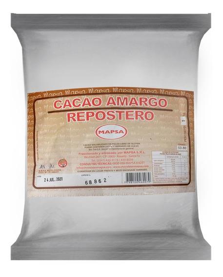 Cacao Amargo Repostero Mapsa X 1 K -ciudad Cotillón - Envíos