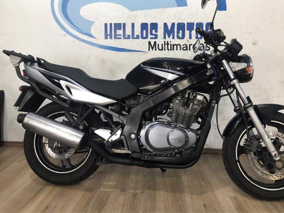 Suzuki Gs 500 2008 Aceito Moto Fin 48x Cartao 12x 1,6%