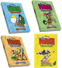 Pateta Faz História. 4 Volumes Coleção Definitiva. Cp Dura.