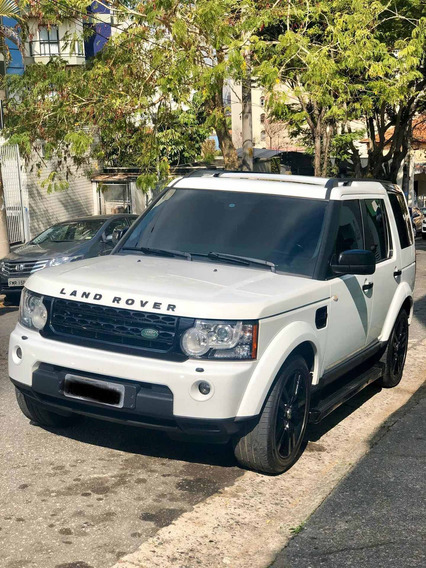 Land Rover Discovery 4 Black White
