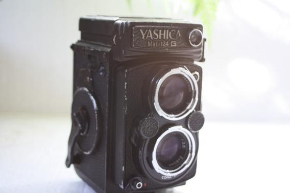 Camera Fotografica Yashica Mat. 124 G Made In Japan