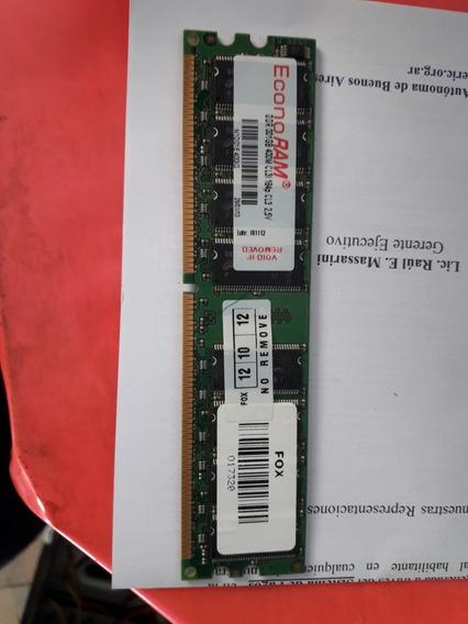 Memoria Ram Ddr 1.5gb 400mhz