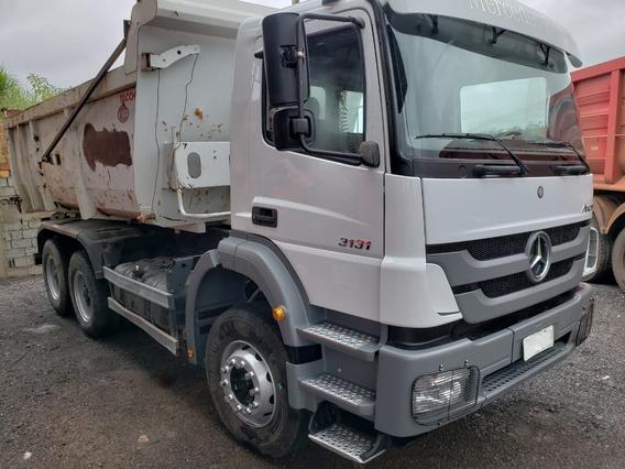 Mercedes-bens Axor 3131 6x4 Ano 2014 Com Km 76.000 Rodados