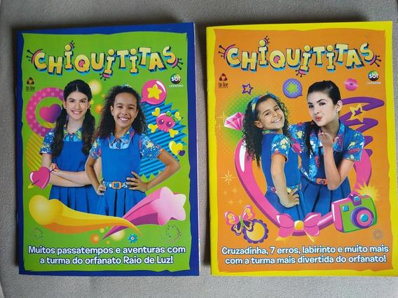 2 Revistas De Atividades Chiquititas