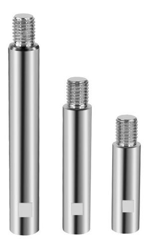 Imagen 1 de 8 de Adaptadores Alargadores Platos Pulidora .x3 Rosca 14mm A128