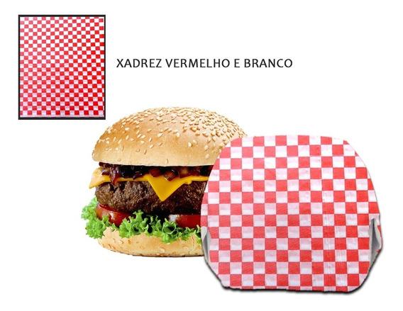 Papel Acoplado Food Wrap Frios Lanches Hamburger C/ 500 Fls