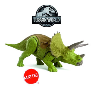 Jurassic World Battle Damage Triceratops