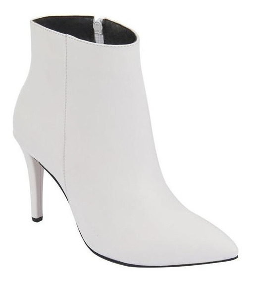 Botas Para Dama Color Blanco Tipo Napa Terra 023309